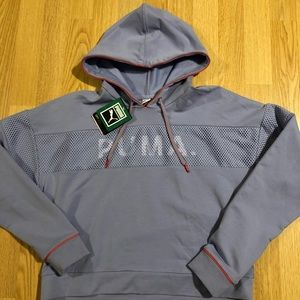 "New ""Puma"" crop sweatshirt size Small"